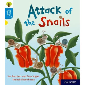 Oxford Reading Tree Story Sparks: Level 3: Attack of the Snails - University Press 9780198414988