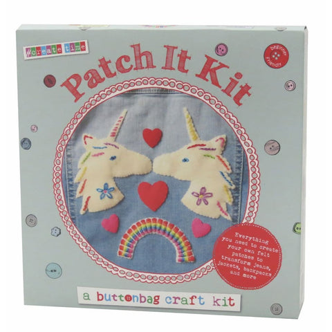 Image of Patch It Kit - Buttonbag Sewing Kits 5060304351050