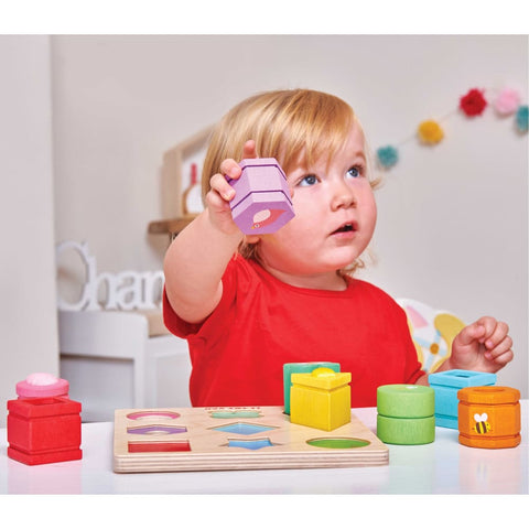Image of Petilou Sensory Shapes - Le Toy Van 5060023420891