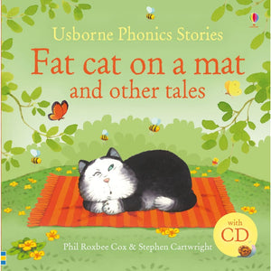 Phonics Stories : Fat Cat on a Mat and Other Tales with CD - Usborne Books