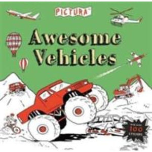 Pictura Puzzles Awesome Vehicles - Templar Publishing 9781783708222