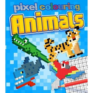 Pixel Colouring Animals - Arcturus Publishing 9781784287986