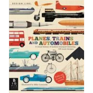 Planes Trains & Automobiles: Design Line - Templar Publishing 9781848776968
