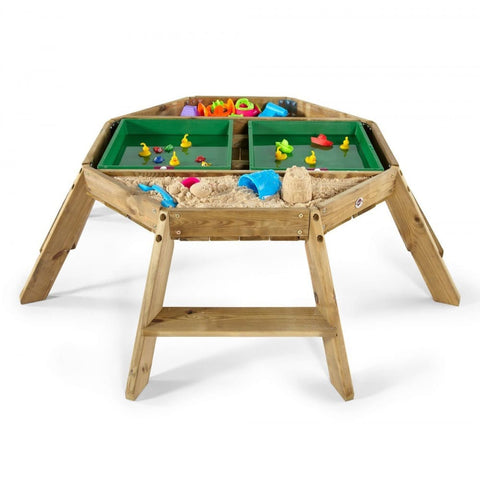 Image of Plum Wooden Octagonal Activity Table