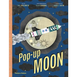 Pop-Up Moon - Thames & Hudson 9780500651865