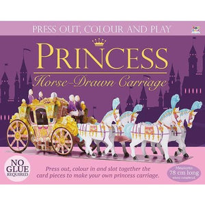 Princess Horse-Drawn Carriage - Imagine That Publishing 9781784454777