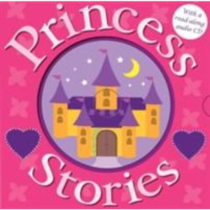 Princess Stories with CD - Priddy Books 9781843328940