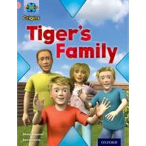 Project X Origins: Pink Book Band Oxford Level 1+: My Family: Tiger's Family - University Press 9780198300595