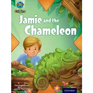Project X Origins: Turquoise Book Band Oxford Level 7: Hide and Seek: Jamie the Chameleon - University Press 9780198301653
