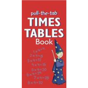 Pull the Tab: Times Tables Book - Anness Publishing 9781843229360