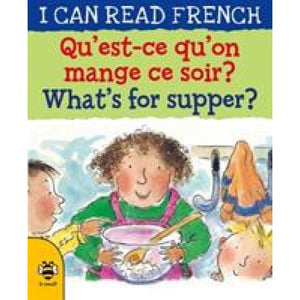Qu'est-ce qu'on mange ce soir? / What's for supper? - b small publishing 9781911509608