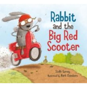 Rabbit and the Big Red Scooter - Templar Publishing 9781848774087