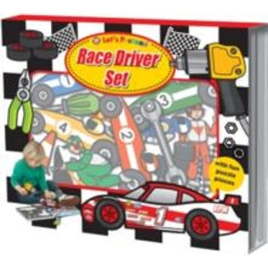 Race Driver Set: Let's Pretend Sets - Priddy Books 9781843329534
