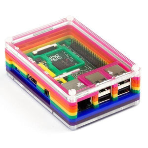 Rainbow Case for Raspberry Pi - BrightMinds