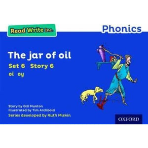 Read Write Inc. Phonics: Blue Set 6 Storybook The Jar of Oil - Oxford University Press 9780198372196