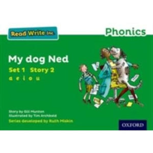Read Write Inc. Phonics: Green Set 1 Storybook 2 My Dog Ned - Oxford University Press 9780198371328