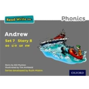Read Write Inc. Phonics: Grey Set 7 Storybook 8 Andrew - Oxford University Press 9780198372332