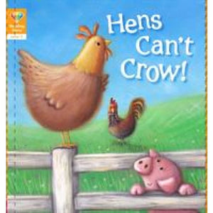 Reading Gems: Hens Can't Crow! (Level 2) - QED Publishing 9781912413829