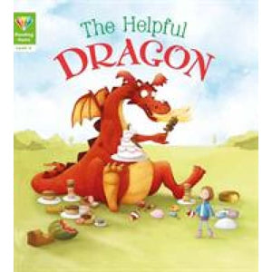 Reading Gems: The Helpful Dragon (Level 4) - QED Publishing 9781784939274