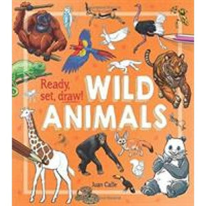 Ready Set Draw!: Wild Animals - Arcturus Publishing 9781784289836