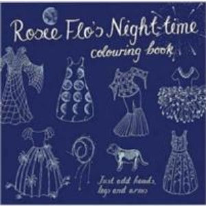 Rosie Flo's Night-time Colouring Book - Now & Then Press 9781870375108
