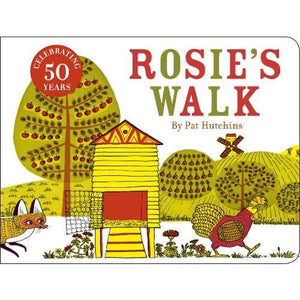 Rosie's Walk: 50th anniversary cased board book edition - Vintage Publishing 9781782300724