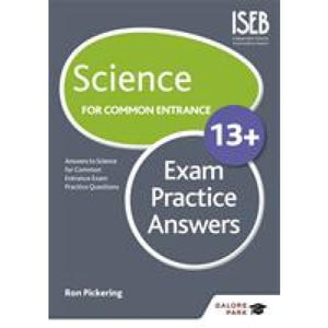 Science for Common Entrance 13+ Exam Practice Answers - Hodder Education 9781471847226