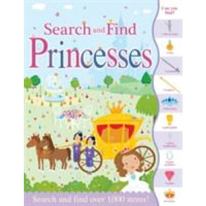 Search and Find Princesses - Imagine That Publishing 9781787000339