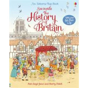 See Inside History of Britain - Usborne Books 9781409550198