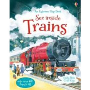 See Inside Trains - Usborne Books 9781409549932