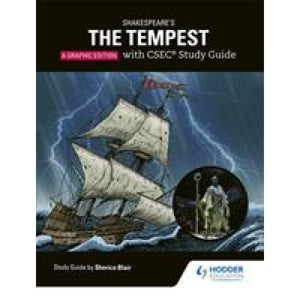Shakespeare's The Tempest: A Graphic Edition with CSEC Study Guide - Hodder Education 9781510430303