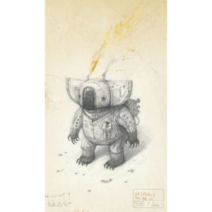 Shaun Tan Notebook - Koala (Blue) - Templar Publishing 9781848775749