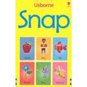 Snap Cards: Happy Families - Usborne Books 9780746060124
