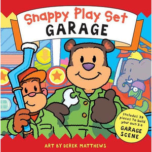 Snappy Playtime Garage: Playset - Templar Publishing 9781848775626
