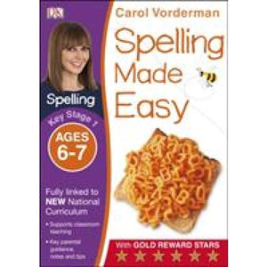 Spelling Made Easy Ages 6-7 Key Stage 1 - Dorling Kindersley 9781409349433