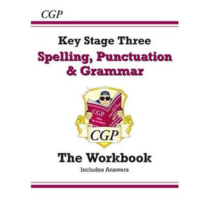 Spelling Punctuation and Grammar for KS3 - Workbook (with Answers) - CGP Books 9781782941170