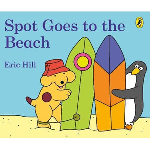 Spot Goes to the Beach - Penguin Books 9780241355503