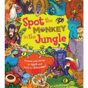 Spot the Monkey in Jungle - QED Publishing 9781781716540