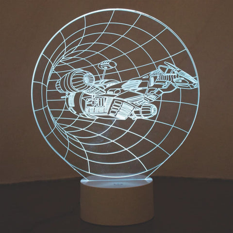 Image of Starship 3D Lamp - Gadget Store