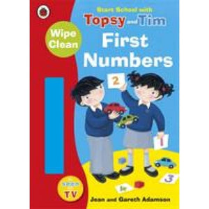 Start School with Topsy and Tim: Wipe Clean First Numbers - Penguin Books 9781409309253