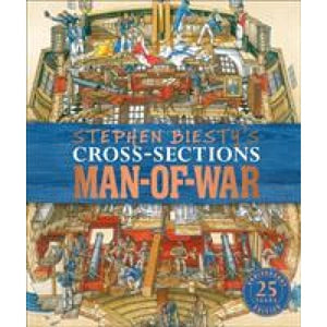 Stephen Biesty's Cross-Sections Man-of-War - Dorling Kindersley 9780241379776