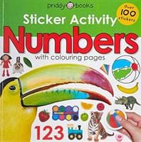 Sticker Activity Numbers - Priddy Books 9781783415274