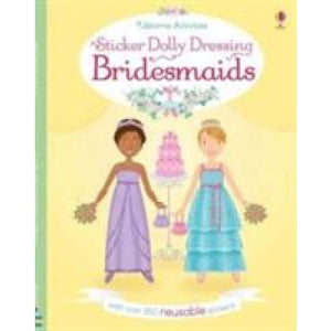 Sticker Dolly Dressing Bridesmaids - Usborne Books 9781474932332