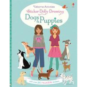 Sticker Dolly Dressing Dogs and Puppies - Usborne Books