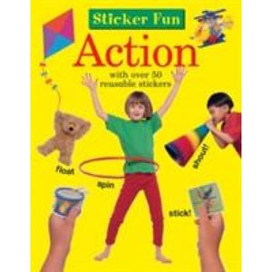 Sticker Fun - Action - Anness Publishing 9781861474186