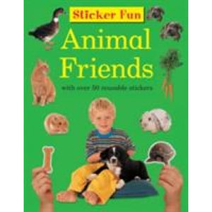 Sticker Fun - Animal Friends - Anness Publishing 9781861474193