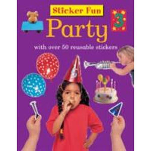 Sticker Fun - Party - Anness Publishing 9781861474339