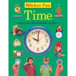 Sticker Fun - Time - Anness Publishing 9781861474360
