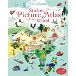 Sticker Picture Atlas of the World - Usborne Books 9781409550013