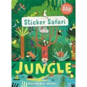 Sticker Safari: Jungle - Templar Publishing 9781783708024